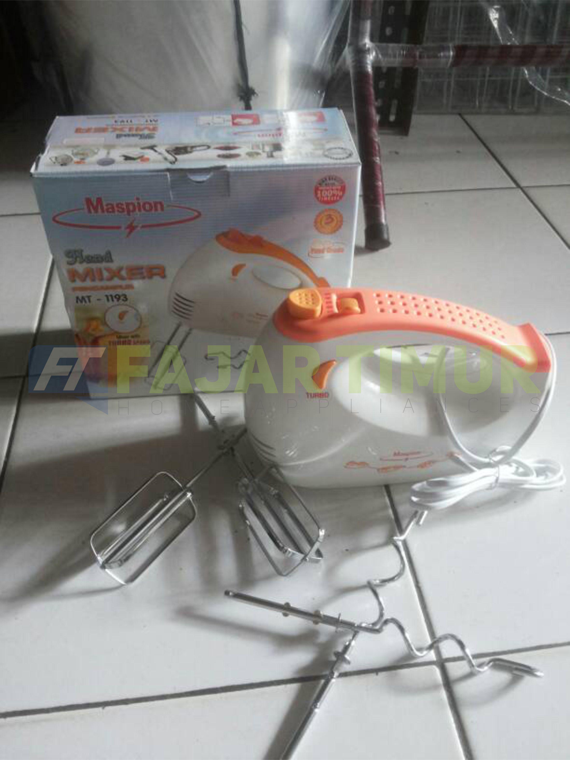 Mixer Hand Maspion Mt 1193 Fajartimur Blender 1206 Spesifikasi